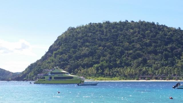 Båtluffa i Yasawa Islands