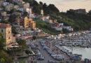 Kustvägen från Sorrento till Kalabrien