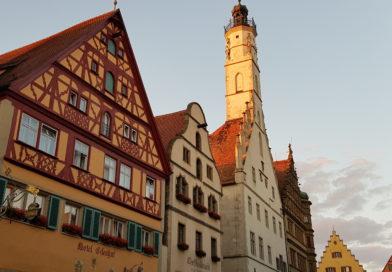 Roadtrip Europa – Vallentuna till Rothenburg ob der Tauber