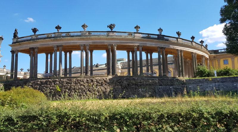 Vi besöker slottet Sanssouci i Potsdam