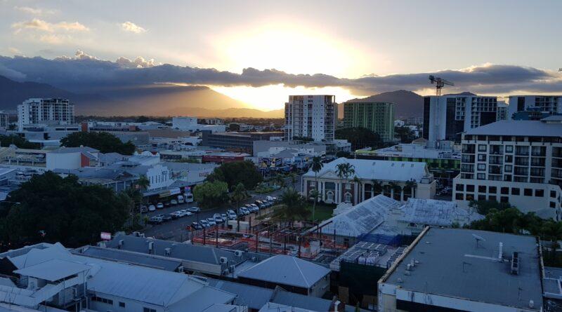 Ett kort stopp i Cairns