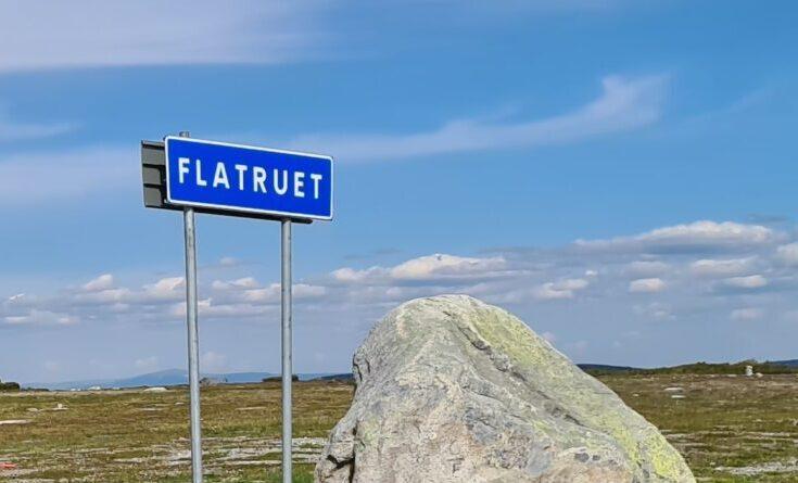 Vägen över Flatruet till Ljungdalen