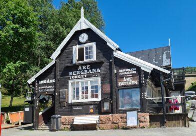 Bilresa genom Norrland – Övernattning i Östersund och en liten tur till Åre