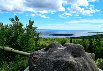 Hemsö fästning vid Höga Kusten – Bilresa genom Norrland