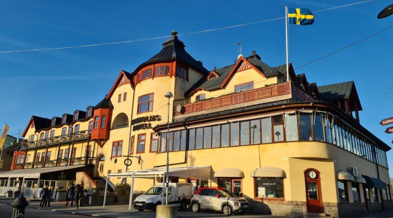 Januari – Ett litet vinterbesök i Vaxholm